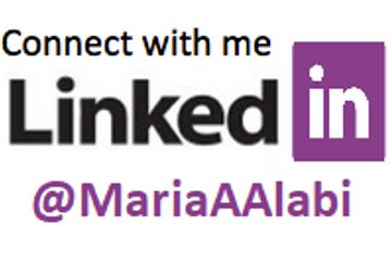 Connect with the author Maria Aduke Alabi on her Linkedin account.