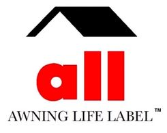 awning life label: inspection and replacement notifications