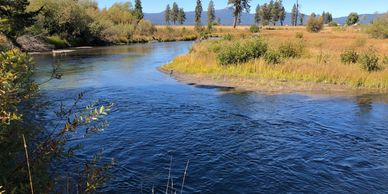 Kayak the Wood River by Fort Klamath, Oregon in Klamath County. Kayak Rentals. Bicycle Rentals.