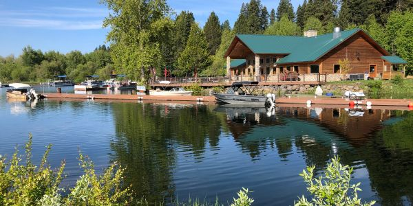 Harriman Springs Resort in Klamath County, Oregon 30 minutes from Crater Lake National Park.