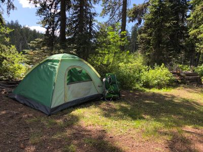 Backpacking in Crater Lake National Park