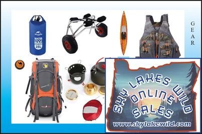 Recreational outdoor products and gear from Sky Lakes Wilderness Rentals located in Oregon