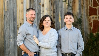 Meet the Owner Shane Dendy, wife Charlsie , and son Ethan.