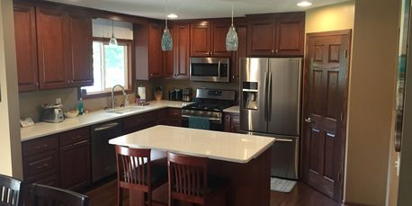 Milless interiors custom kitchen remodel! Affordable general contractor in the metro area!