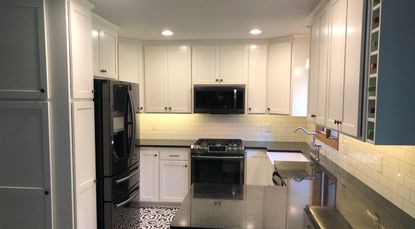 Remodeled kitchen built and designed by Milless Interiors. Your affordable custom contractor!
