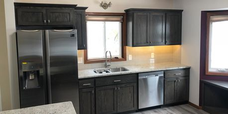 Kitchen remodel built by Milless Interiors! Your affordable custom contractor!