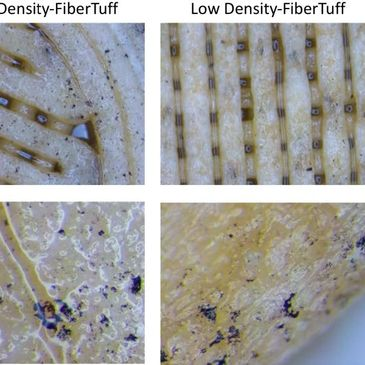 FibreTuff in vitro testing for cell and tissue conduction