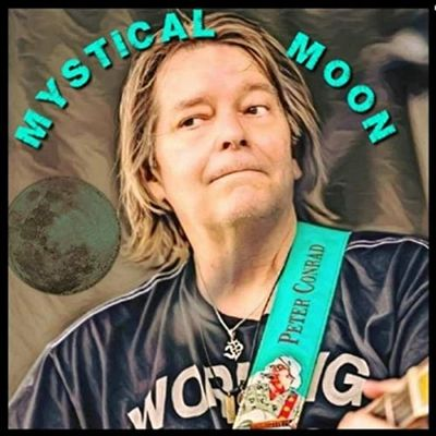 "Now available at all of Peter's shows the new CD ""Mystical Moon"""