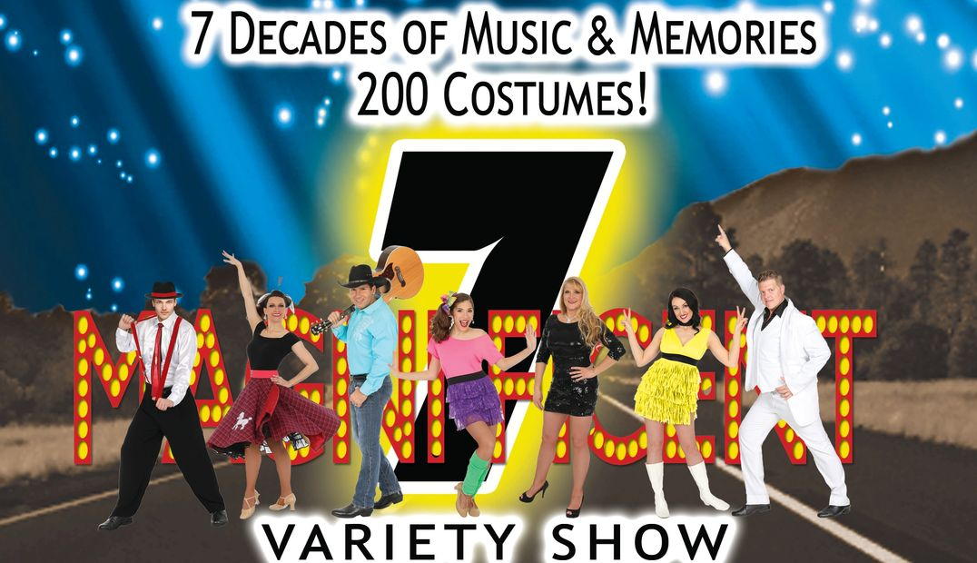Branson, Missouri - hottest variety music show - award winning show Magnificent 7. variety kids free