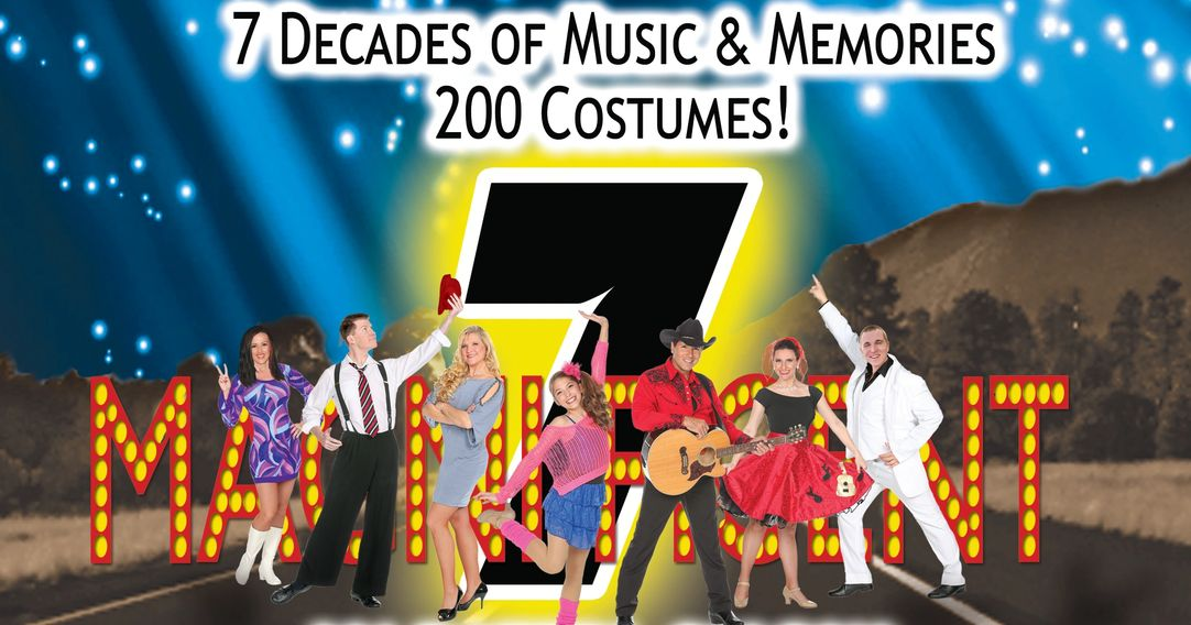Branson, Missouri variety music show. Kids 12 and under are free. 200 rapid costume changes.