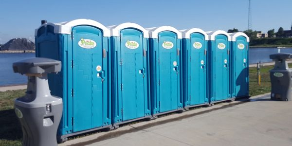 Portable Restrooms on St. Joseph River, St. Joe Michigan