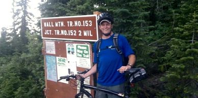 Scott Bourassa, trail builder extraordinaire