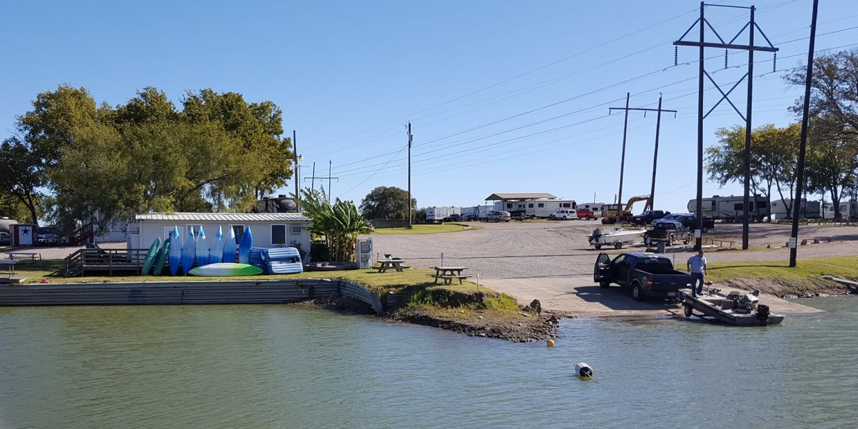 OPEN DAILY. Featuring  22 site RV park Wi-Fi, full hook-ups, on-site boat ramp, fishing, swimming