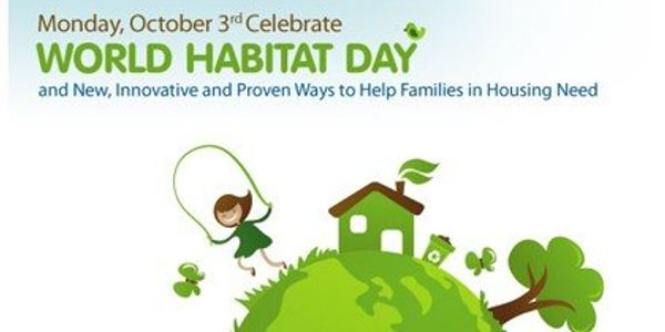 The purpose of World Habitat Day is to reflect on the state of our towns and cities, and on the basi