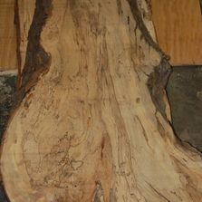 Spalted maple slab. Hand-selected materials. Wood slab.