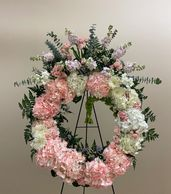 Sympathy floral arrangements, funeral home deliveries, same day flower delivery, funeral wreaths