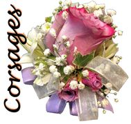 corsages wedding roses prom