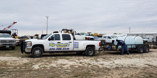 Top Priority Services doing some mobile washing in Abilene texas