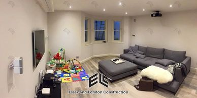 Essex and London Construction. Loft conversions and renovations. Builders near to me. Living.