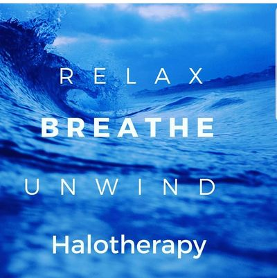 relax, breathe, unwind, halotherapy, dry salt therapy
