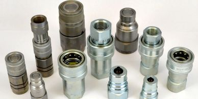 """Hydraulic Quick Release Coupling Connector 3//4/"""" Stainless Steel Clutch Socket Nipple"""