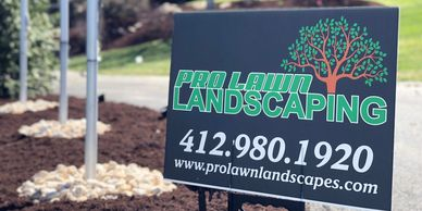 Landscaping mulch landscape hardscaping retaining wall pro lawn walls mulching installs landscaper