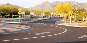 Az Roundabouts Drone and Marketing Photos