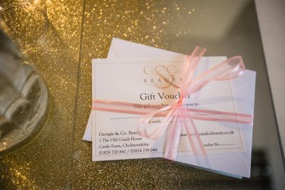 Georgie and Co Gift Vouchers available from as little as £5