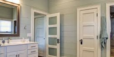 "New interior doors, base, trim and/or crown is a great way to get that ""pop"" look in your home. Brig"