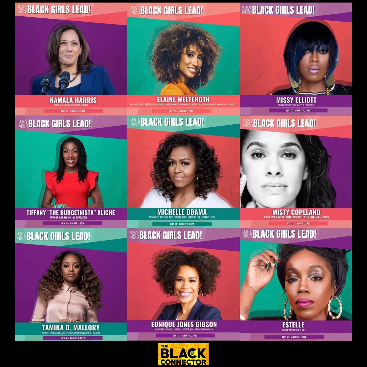 Black Girls Rock To Host Black Girls Lead Conference On July 31