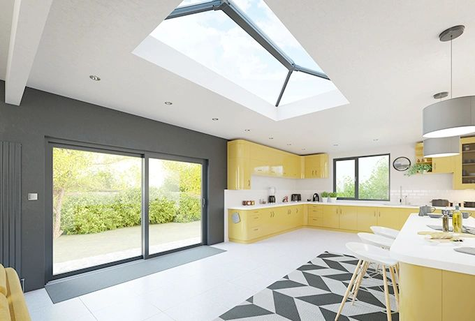Stratus Roof Lantern. Thermally Broken. Flat Roof. Orangery Roof. Lantern Roof.