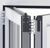 Liniar UPVC Bi-Fold showing Upgraded Security Features