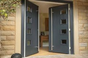 Solidor Composite French Doors GRP Skins + Timber Core