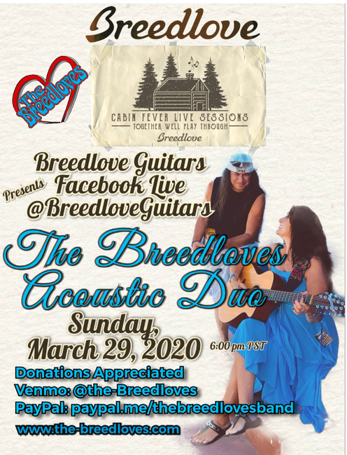 Breedlove Guitars Presents Cabin Fever Live Sessions with The Breedloves Acoustic Duo