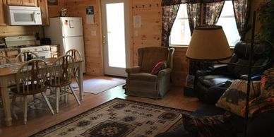 Cabin rental near Rangeley