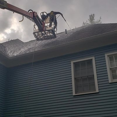 Roof Washing in West Hartford CT