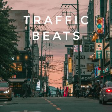 traffic beats amsterdam music influencer beatmaker rinz. lofi chillhop beats to drive to traffic jam