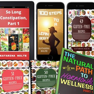 Get rid of constipation, lose weight, learn how to cook healthy and feel 10 years younger.