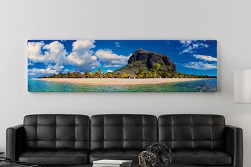 Wall art Mauritius Wall canvas Le Morne Mountain home deco Framed art mauritius Wall Art by 1950