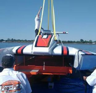 "This is SOLID VIDEO PRODUCTIONS on location documenting a classic hydroplane, ""Behind The Scenes""."