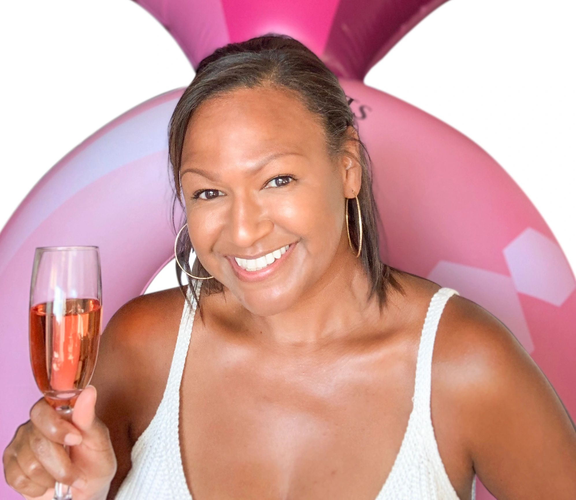 Shantae Jones, founder and Chief Bubbly Officer of Fizz Bubbly Bar.