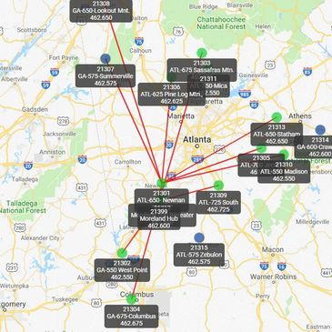 North Georgia GMRS on aprs repeater map, people-mover map, ft harrison mt map, florida industry map, florida repeater map, coverage map, grand central highway map, ham radio map, radio repeater map, 2 meter repeater map,