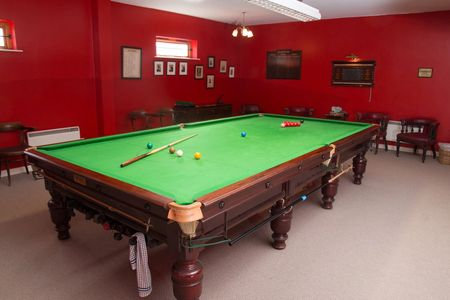 Snooker section