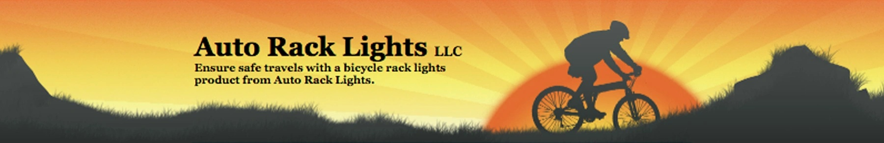 Auto Rack Lights LLC Ensure safe travels with a bicycl rack light