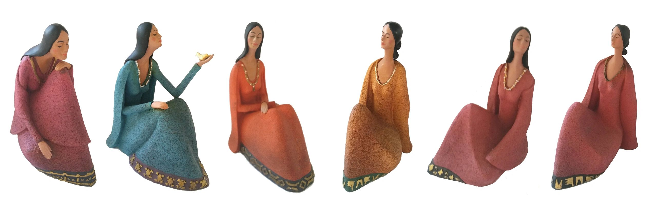 "{""blocks"":[{""key"":""6i1c9"",""text"":""The Women of Sedona.....These graceful figurines are sold as a set of 6 assorted pieces. They are hand-painted in Utah and are available in two sizes: 6\"" and 8\"". Min: 1 set (6 pcs) of either size "",""type"":""unstyled"",""depth"":0,""inlineStyleRanges"":[],""entityRanges"":[],""data"":{}}],""entityMap"":{}}"