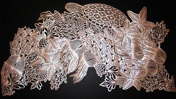 Gallery- hand cut paper artwork