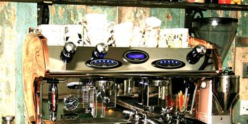 Seriously stylish Fracino Coffee Machine
