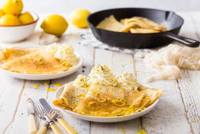 Lemon might be one of the UK's favourite toppings for pancakes on a Shrove Tuesday,
