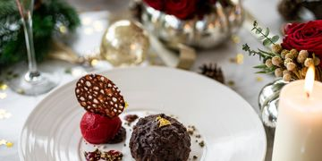 Festive dining at the Roya; Lancaster