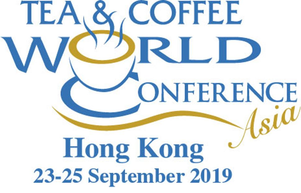 Tea and Coffe World Conference  22nd - 25th September 2018. HONG KONG